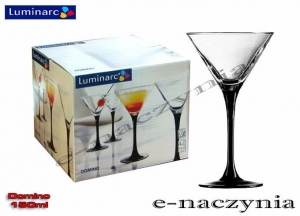 Kpl. 4-kieliszków do martini DOMINO 150 ml Luminarc