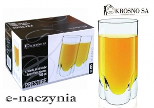 Szklanki long drink 300ml Virgo Prestige