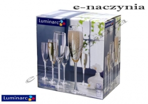 Kieliszki do szampana 170ml SIGNATURE Luminarc (kpl. 6szt.)
