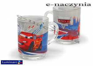 Kubek szklany 250ml Disney CARS 2